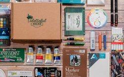 paletteful packs art supply subscription