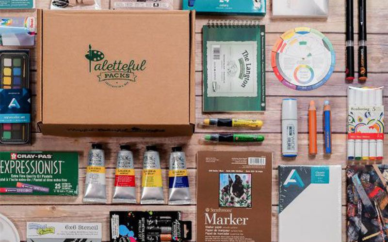 paletteful packs craft subscription box