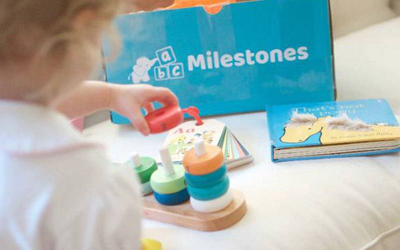 milestones subscription baby box