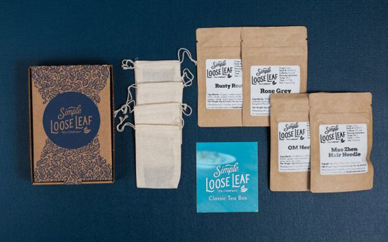 simple loose leaf tea subscription